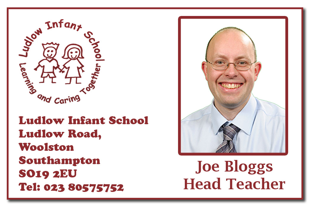 School Staff ID Cards and Badges with logo, name and job title: jpphotographic.co.uk/school-photography/services/id-cards